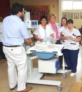 La Cooperadora del Hospital Saporiti entrego Servocuna a Neonatología