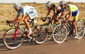 El ciclismo mendocino recorrió las calles de Junín