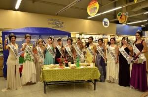 Agasajo a las Reinas Distritales de Rivadavia