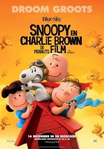 poster pelicula snoopy y charlie brow peanuts la pelicula 2