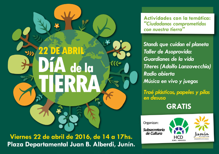Junín celebrará el 'Día Internacional de la Madre Tierra'