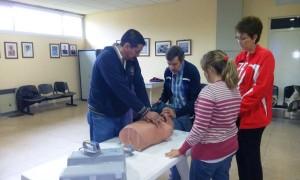 Se dictó un Taller de RCP y Urgencias Cardiológicas en el Saporiti
