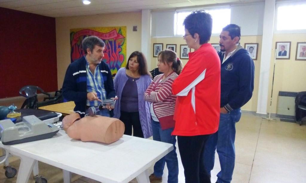 Taller de RCP y Urgencias Cardiológicas