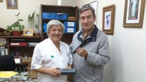 Nuevo equipamiento oftalmológico para el Hospital Saporiti