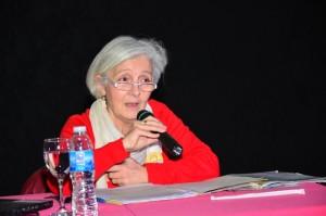Exitosa conferencia- taller de Rosa Violante en el Ducal