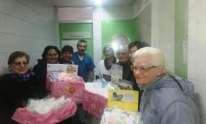"""Importante donación del CCT """"Valle de Uyata"""" a Neonatología del Saporiti"""