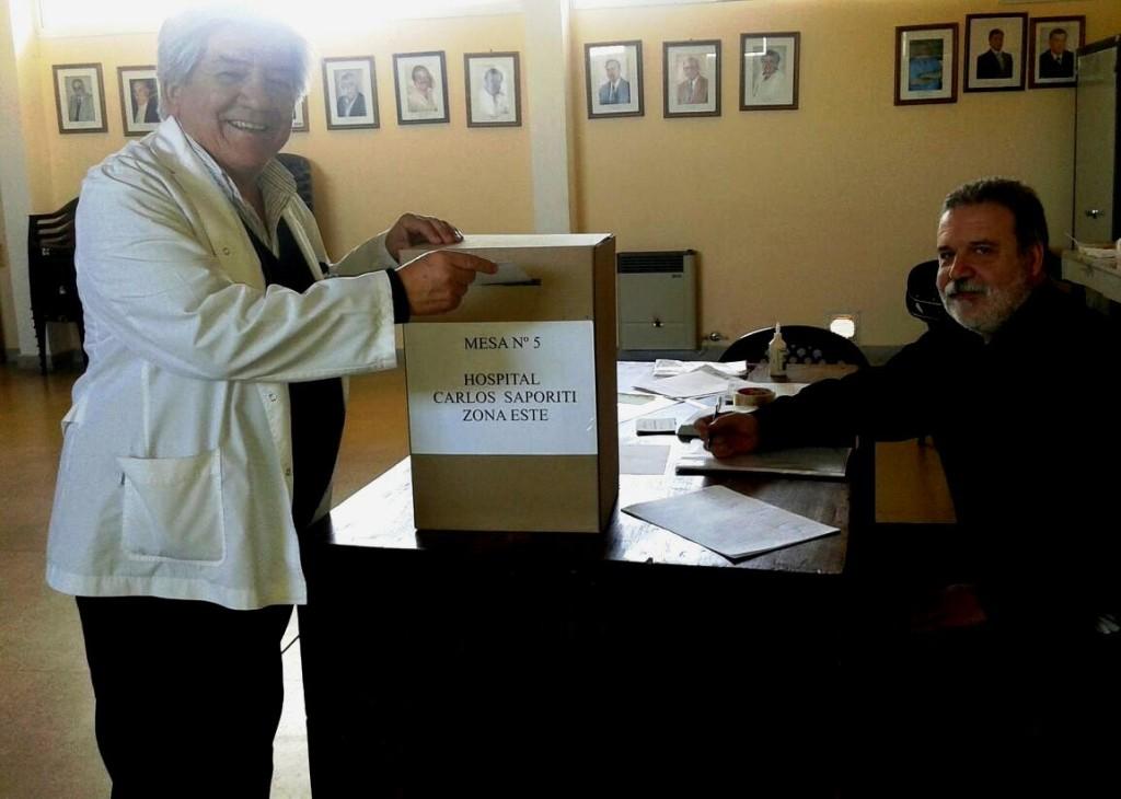 Se realizaron elecciones en el Hospital Dr. Carlos Saporiti