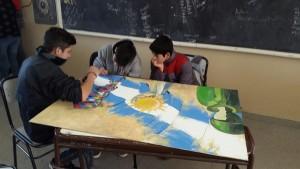 Alumnos de distintas escuelas de Rivadavia realizarán una muestra de murales