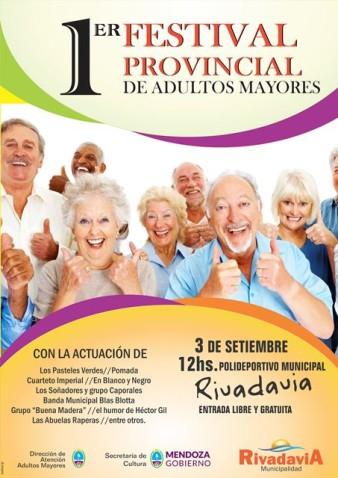 "Rivadavia presentó el ""1º Festival del Adulto Mayor"""