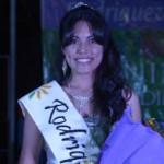 Rodríguez Peña coronó su candidata vendimial