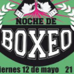 Programa de peleas del Festival Boxistico que se realizará en La Colonia