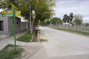 Continúa el plan de hormigonado de calles de Junín