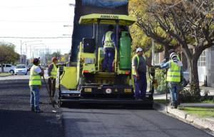 Siguen los trabajos por el plan municipal de asfalto
