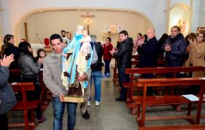Se vivió el tradicional festejo de la Virgen del Carmen de Cuyo