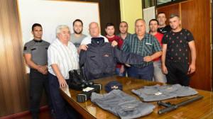 Nuevos uniformes para preventores de Rivadavia