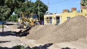 Las obras de la tercera etapa del plan municipal de asfalto no se detienen