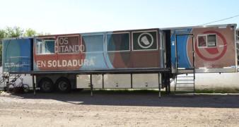 Se inicia en Rivadavia capacitación de soldadura en aulas móviles