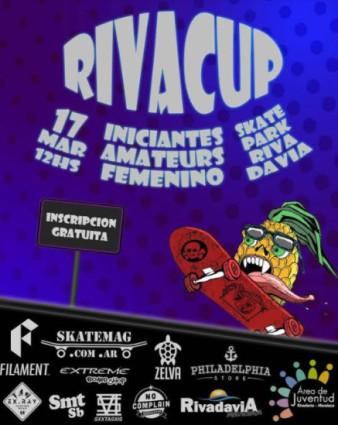 "II Competencia de Skate ""RivaCup"" en RivaPark (SkatePark de Rivadavia)"