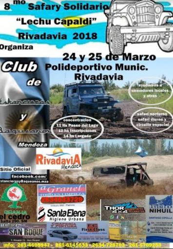 8° Safari solidario en Rivadavia
