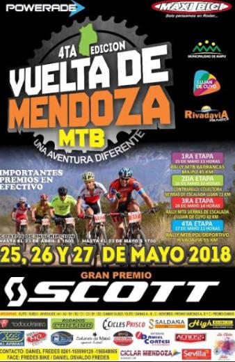 La 4° Vuelta Mendoza MTB se define en Rivadavia