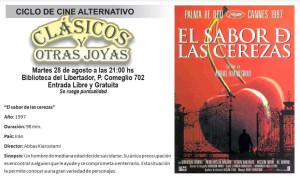 Cine alternativo «Clásicos y Otras Joyas»