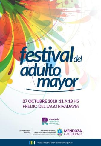 Llega el tercer festival del adulto mayor a Rivadavia