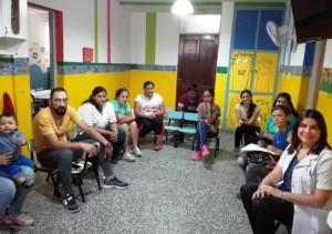 """El Hospital Saporiti dicto talleres para padres en el Jardín Maternal """"La Casita de los Ángeles"""""""