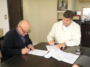 Convenio de financiamiento entre los municipios de Junín y Rivadavia