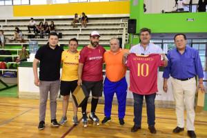 Se disputó un torneo internacional master de veteranos hockey sobre patines