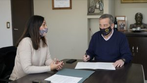 Junín firmó importante convenio con la Casa Ronald McDonald para la prestación del servicio de alojamiento