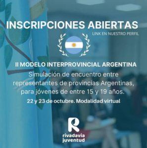 II Modelo Interprovincial Argentina
