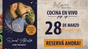 Los Encina sabores de Mendoza, dará comienzo a un ciclo de Chefs invitados