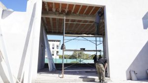 El edificio que albergará las oficinas de gobierno, trabajo y justicia tiene un 85% de avance de obra